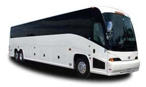 56 Passenger Charter Bus Rental